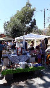 Markt Barril de Alva potten en pannen