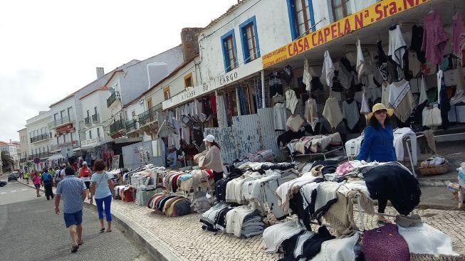Nazare winkeltjes westkust