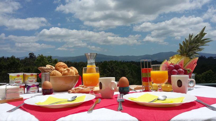 Porturama ontbijt met uitzicht